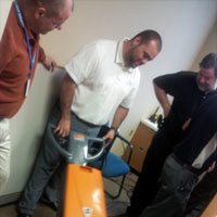 BRAVO! Management Team Trains With The Newest Carpet Care Equipment