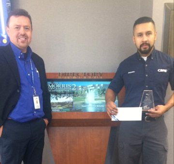 ALEJANDRO LONDONO IS NOVEMBER'S RISING STAR EMPLOYEE OF THE MONTH!