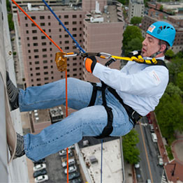 "BRAVO! Team Goes ""Over The Edge"" To Support Special Olympics Delaware"