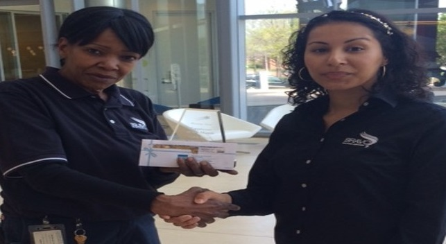 CARLA RORIE HAS BEEN AWARDED RISING STAR OF THE MONTH FOR FEBRUARY 2016